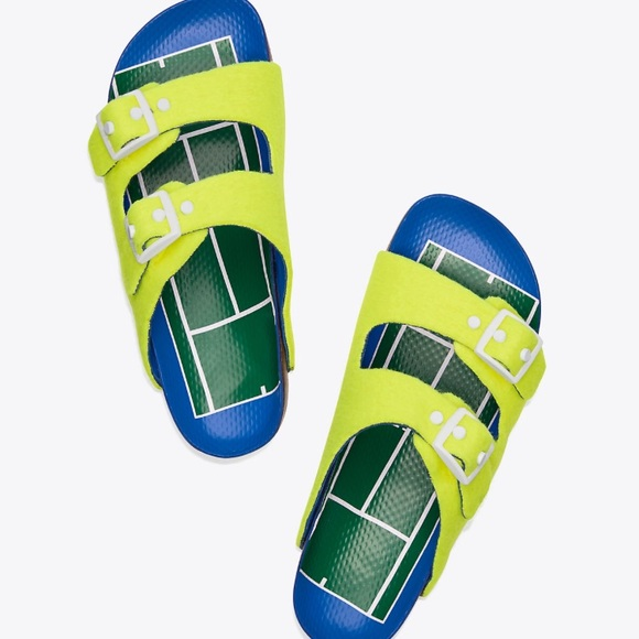 6e9cce2187f7 Tory Burch Tennis Buckle Sandals